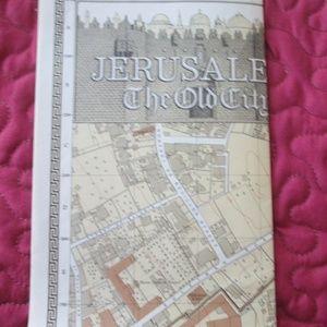 RARE Old City Jerusalem Map